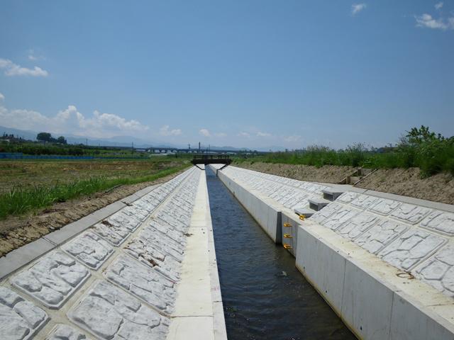 県営畑地帯総合土地改良事業 中野北部地区排水4号設計