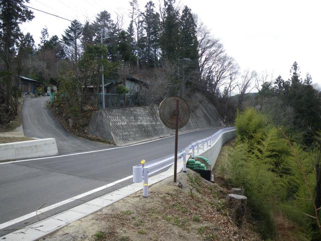 県単道路改築事業に伴う測量設計 (一)宇留賀池田線