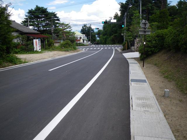 県単道路改築事業に伴う設計業務委託 (一)有明大町線