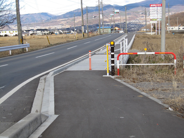 県単道路改築事業に伴う設計 丸子東部インタ-線