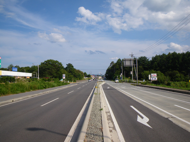 国補道路改築事業に伴う設計国道141号長土呂~御影新田バイパス
