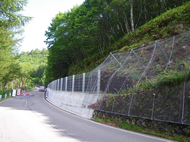 県単道路防災事業に伴う測量・設計 (主)諏訪白樺湖小諸線