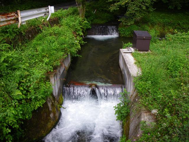 県営かんがい排水事業御影用水地区用水路設計
