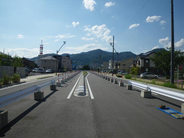 長野駅東口区画整理事業駅南幹線他5線測量設計