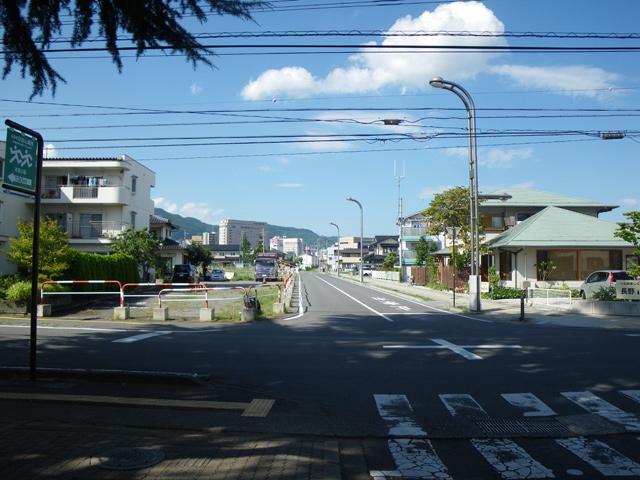 長野駅東口区画整理事業区14-2号線外5線測量設計