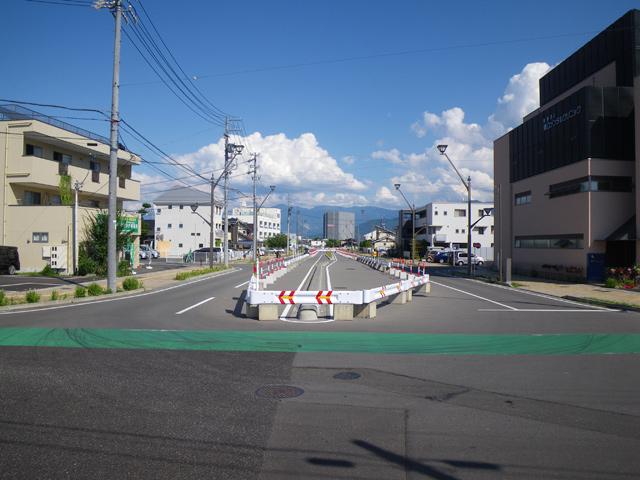 長野駅東口区画整備事業駅南幹線外測量設計