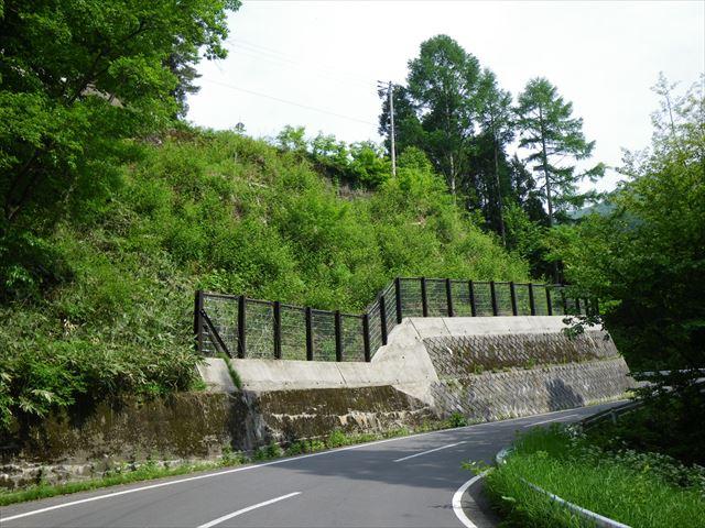 県単地方道路交付金(災害防除)工事に伴う設計