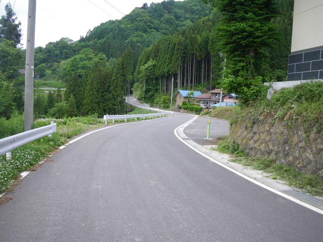 県単道路改築事業に伴う測量・設計 (一)小川長野線