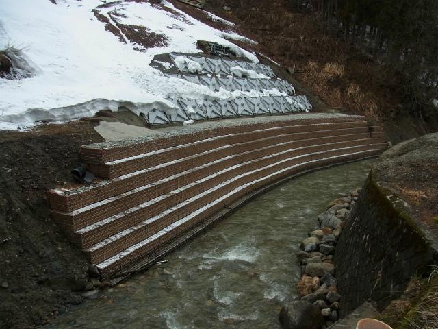 県単河川改修事業に伴う測量設計